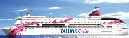 Паромная компания Tallink Silja Oy. Паром Balic princess. Принцесса Балтики.